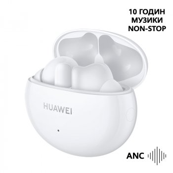Наушники Huawei FreeBuds 4i Ceramic White (55034190)