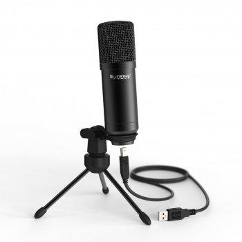 Студійний мікрофон Fifine K730 (USB) зі штативом Black