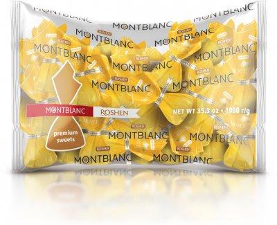 Конфеты Roshen Mont Blanc с шоколадом и сезамом 1 кг (4823077632501)
