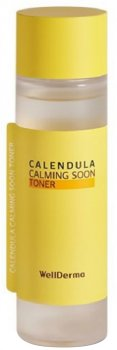 Тонер для лица с календулой Wellderma Calendula Calming Soon Toner 150 мл (8809502183837)