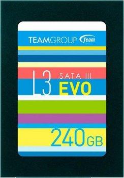 "Накопичувач SSD Team Sata 2,5"" 240Gb L3 EVO (T253LE240GTC101)"