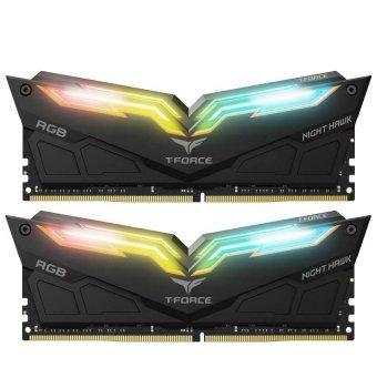 Модуль памяти Team DDR4 16Gb (2x8) T-Force Night Hawk RGB Black 3200 MHz (TF1D416G3200HC16CDC01)