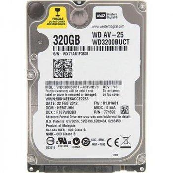 Жорсткий диск 2.5 Western Digital AV-25 320Gb (WD3200BUCT)
