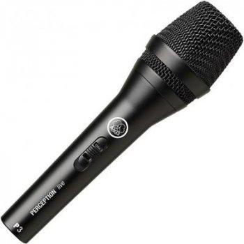 Мікрофон AKG P3 S Black