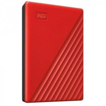 """Зовнішній жорсткий диск 2.5"""" 4TB Western Digital (WDBPKJ0040BRD-WESN)"""