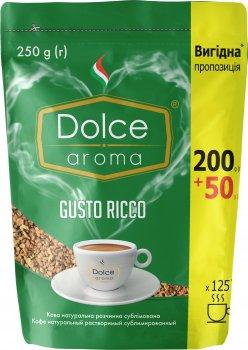 Кофе растворимый Dolce Aroma Gusto Ricco натуральный 250 г (4820093482462)