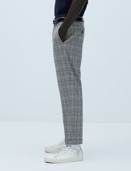 Брюки Zara М0108961 (4253/588/049) цвет серый