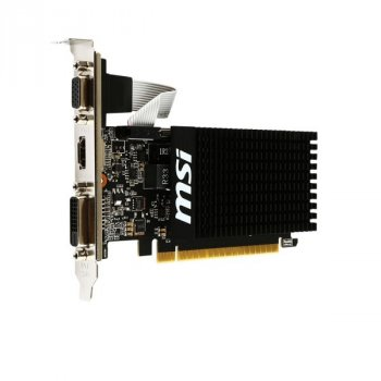 Видеокарта MSI GeForce GT710 1GB DDR3 64bit low profile silent