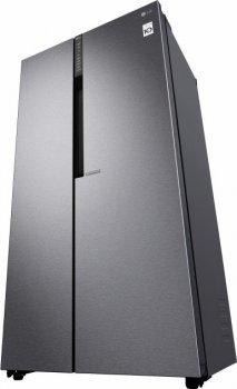 Холодильник LG GC-B247JLDV SbS / 179 см/ 613 л/ А+/ Total No Frost/ лінійний компр./платіні.-срібло.
