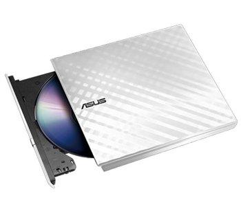 Привід ASUS SDRW-08D2S-U LITE DVD+-R/RW USB2.0 EXT Ret Slim White