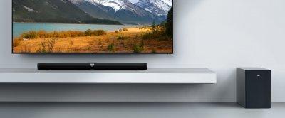 TCL Звуковая панель TS7010 2.1, 320W, Dolby Digital, HDMI ARC, Wireless