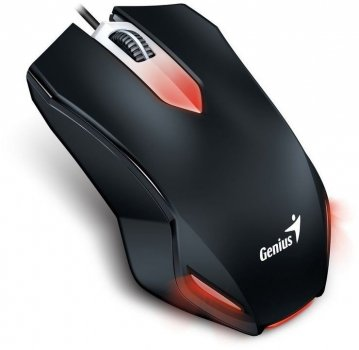 Миша Genius X-G200 USB Gaming Black