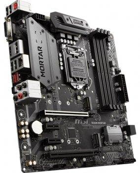 Материнcкая плата MSI B360M_MORTAR s1151 B360 4xDDR4 M.2 HDMI-DVI-DP M.2 S3 mATX