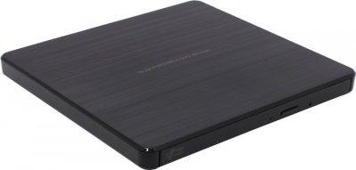 Привод Hitachi-LG GP60NB60 DVD+-R/RW USB2.0 EXT Ret Ultra Slim Black