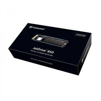 Твердотільний накопичувач SSD Transcend JetDrive 850 240GB для Apple