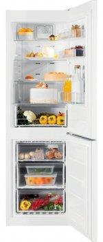 Холодильник с нижн. мороз. камерой Indesit XIT8T1EW, 189х66х60см, 2 дв., Х- 223л, М- 97л, A+, NF, Белый