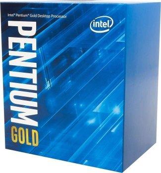 ПРОЦЕСОР Intel Pentium Gold G6400 2/4 4.0 GHz 4M LGA1200 58W box