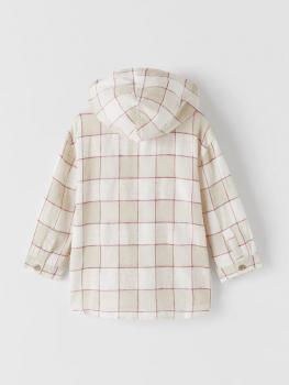 Рубашка Zara Песочный (ZR-00035)