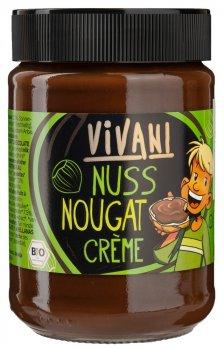 Паста Vivani с молочного шоколада с нугой органическая 400 г (4044889000351)