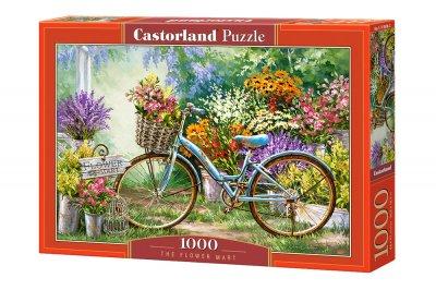 Пазли Castorland Квітковий ринок на 1000 елементів