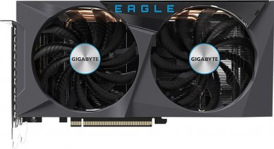 Gigabyte PCI-Ex GeForce RTX 3060 Eagle OC 12G 12GB GDDR6 (192bit) (15000) (2 х HDMI, 2 x DisplayPort) (GV-N3060EAGLE OC-12GD + Z390 D + P650B)