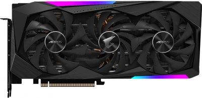 Gigabyte PCI-Ex GeForce RTX 3060 Ti Aorus Master 8G 8 GB GDDR6 (256 bit) (1665/14000) (3 х HDMI, 3 x DisplayPort) (GV-N306TAORUS M-8GD + Z390 D + P750GM)
