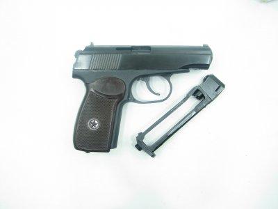 Пневматичний пістолет Байкал МР-654к н 32 серія + баллончик со2 в подарунок