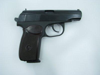 Пневматичний пістолет байкал мр658к(мр654к) бак. рук. blowback