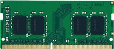 Оперативна пам'ять Goodram SODIMM DDR4-3200 8192 MB PC4-25600 (GR3200S464L22S/8G)