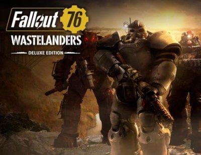 Игра Fallout 76: Wastelanders Deluxe Edition (Steam) (PC) (Ключ активации Steam)