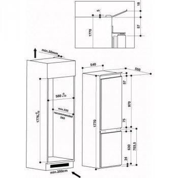 Холодильник Whirlpool ART 65021