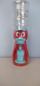 Детский кулер для воды Фунтик Уточка красный