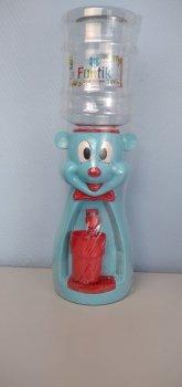 Детский кулер для воды Фунтик Мишка голубой