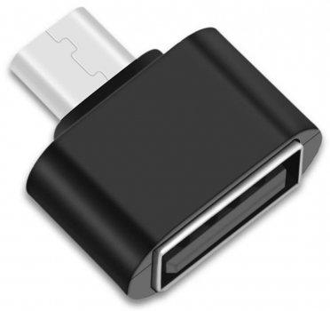 Адаптер до кабелю XOKO AC-050 USB — Micro USB чорний