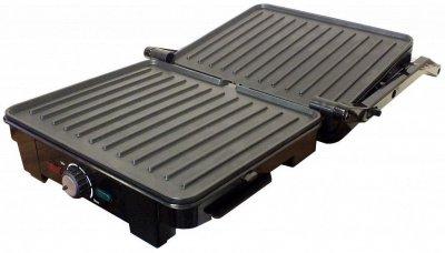 Електрогриль Grunhelm G1600 з регулятором температури 1600 Вт Чорний 80734