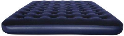 Надувний матрац Supretto 203x152x22 см Синій (5993-0001)
