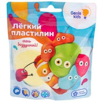 """Лёгкий пластилин"" для детской лепки, желтый - GENIO KIDS (TA1712-4)"