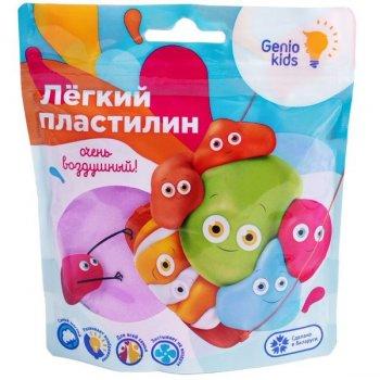 """""""Лёгкий пластилин"""" для детской лепки, фиолетовый - GENIO KIDS (TA1712-5)"""