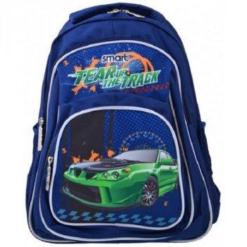 Рюкзак школьный для мальчиков SMART 557686 ZZ-01 Tear Up The Track (273254)