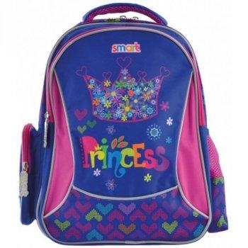 Рюкзак школьный каркасный для девочек SMART 556809 ZZ-02 Cool Princess (273256)