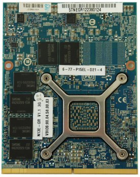 NVIDIA GeForce GTX 670MX 3 ГБ GDDR5