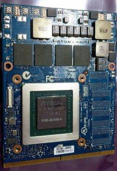NVIDIA GeForce GTX 965M MXM 3.0 B 4 ГБ GDDR5