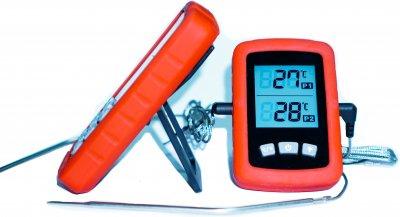 Цифровой термометр Grilli выносной двухзонный (777762)