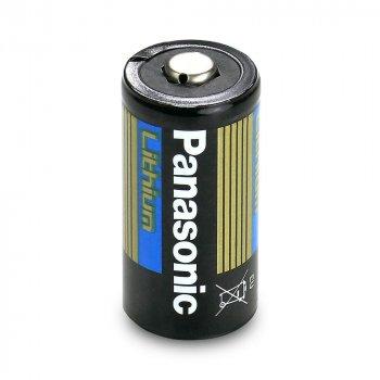 Батарейка литиевая Panasonic Lithium CR123A (Bulk), 1550mAh, 3V
