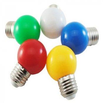 """Лампа світлодіодна G45 1,2 W E27 рожевий кулька """"LEMANSO"""" LM705"""