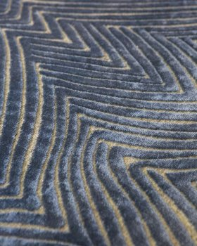 Килим Glorious 160 см х 230 см сірий/синій арт. 000079721