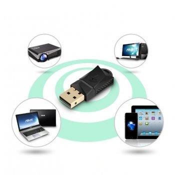 Беспроводной USB Wi Fi адаптер 300 Мбит/с Rocketek RT-WL3