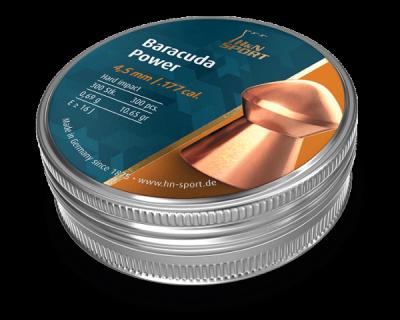 Кулі пневматичні H&N Baracuda Power 0,69 гр 300 шт