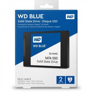 "Накопичувач SSD 2.5"" 2TB Western Digital (WDS200T2B0A)"