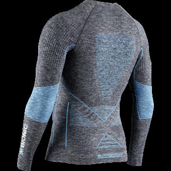 Термофутболка X-Bionic Energy Accumulator 4.0 Melange Shirt Round Neck LG SL MEN колір G161